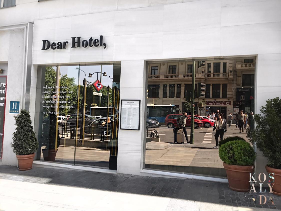 Dear Hotel 5* avis