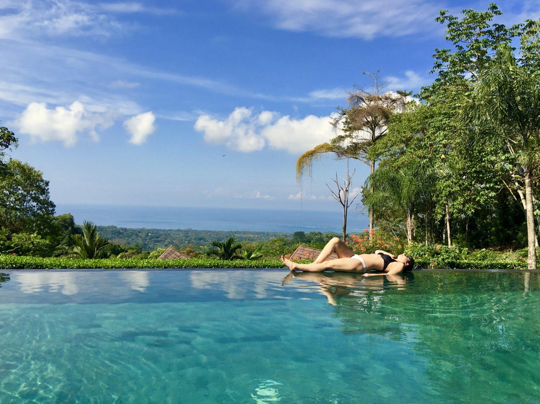 Piscine a debordement Hotel Costa Rica