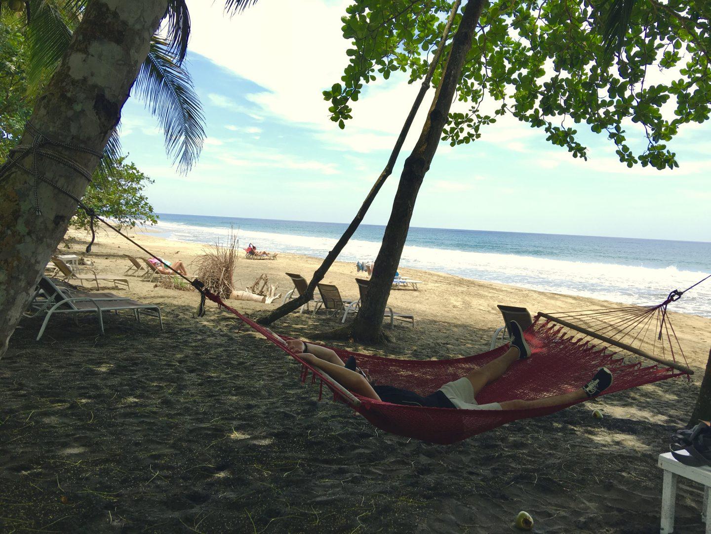 Costa Rica Hamac sur la plage Cocles
