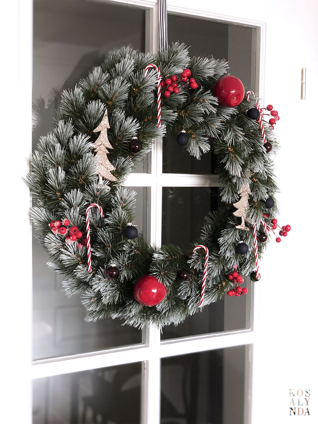 couronne de noel christmas wreath