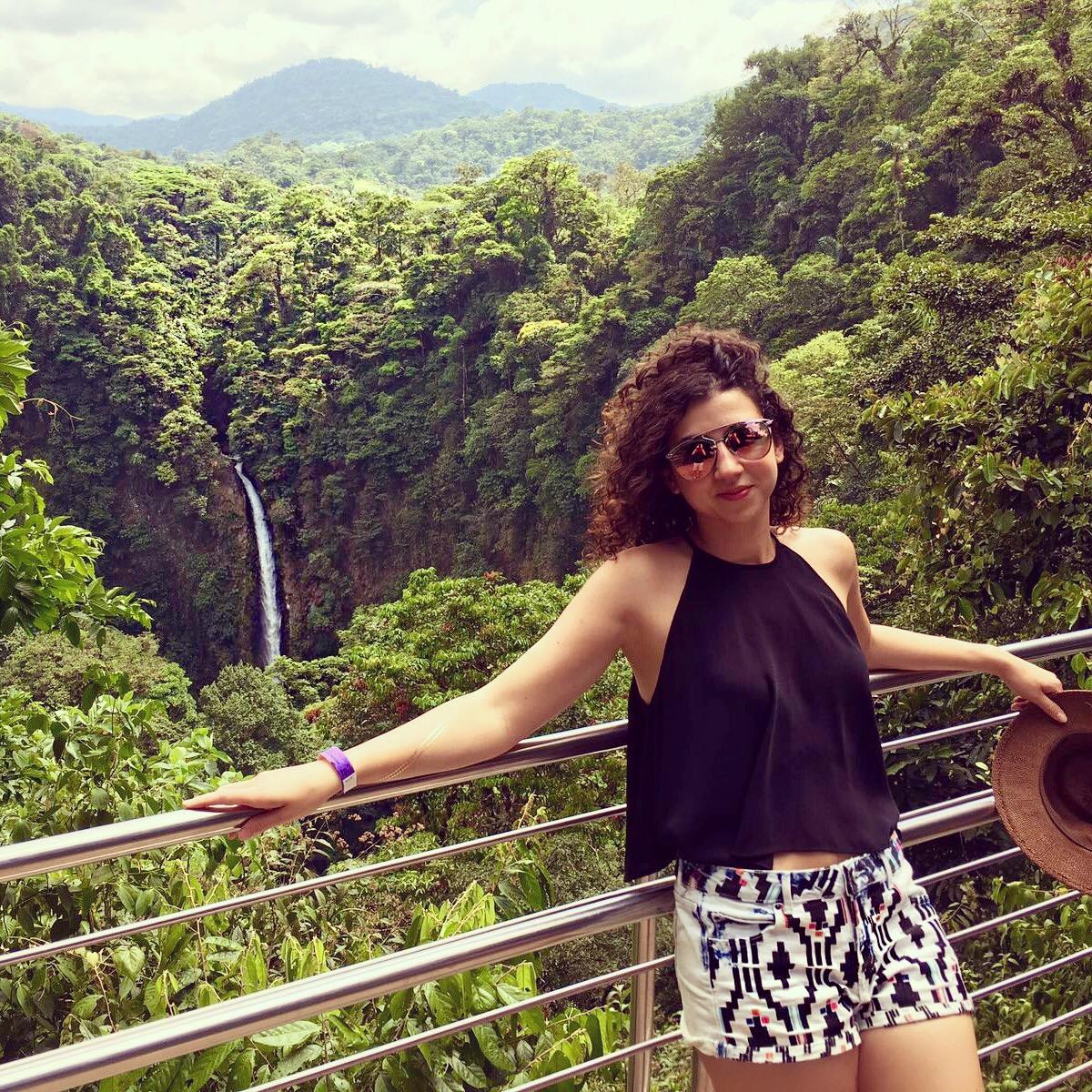 Chutes Fortuna Costa Rica Roadtrip