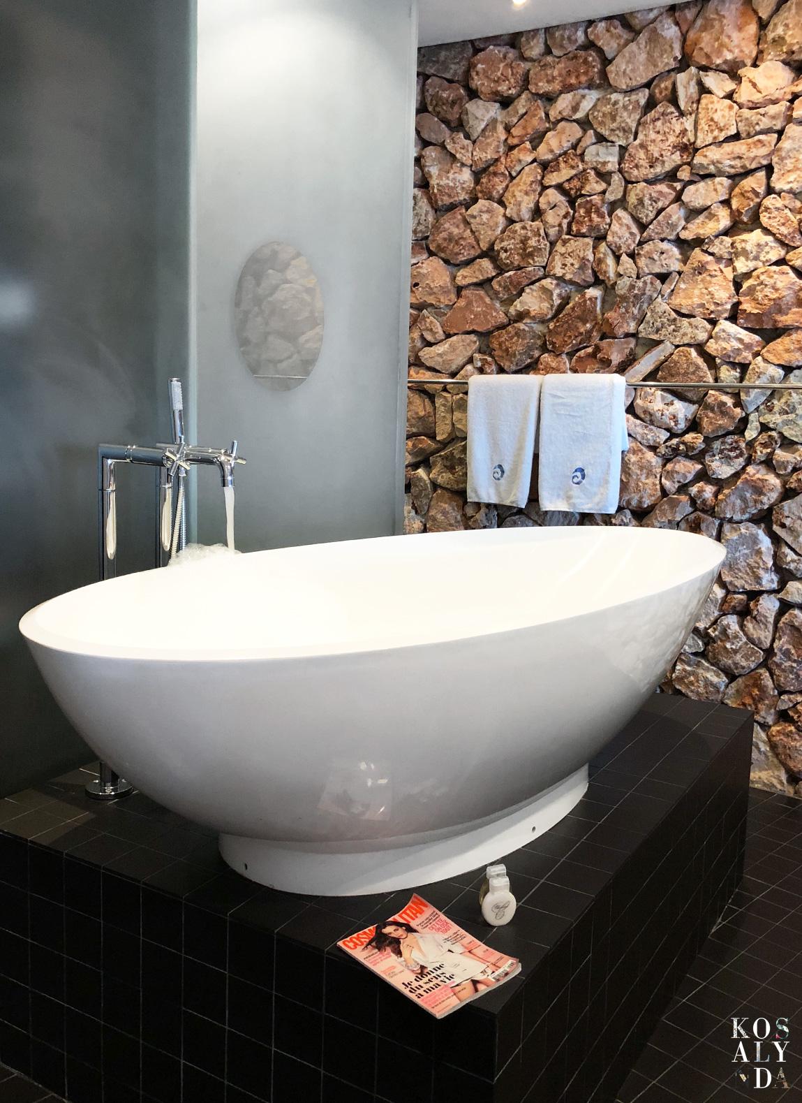 salle de bain luxe hotel Hospes Maricel